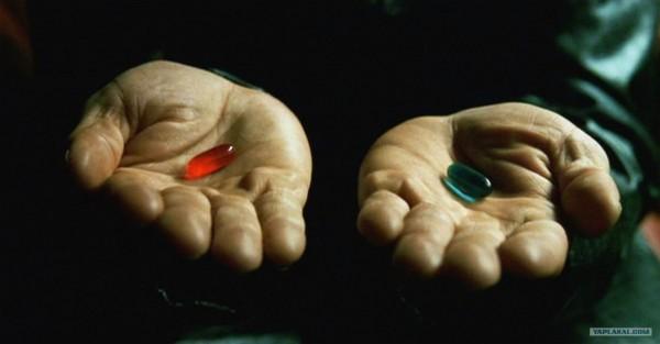 pillola rossa o pillola blu
